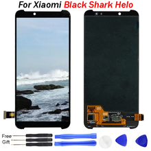 For Xiaomi Black Shark Helo Lcd Screen Display WIth Touch Sensor Glass DIgitizer Replacement LCD Display For Blackshark Helo lcd black 100% new for lg max x155 x165 lcd display screen panel module with touch digitizer glass sensor replacement part