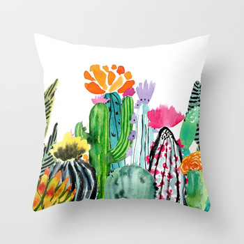 Tropical Cacti Cushion Covers