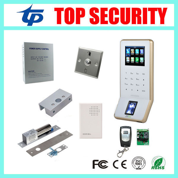 ZK F22 fingerprint access control system WIFI TCP/IP biometric fingerprint time attendance and access control system tcp ip biometric fingerprint time attendance and access control system 1000 users cheap price door access controller reader