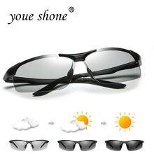 Photochromic Óculos De Sol de alumínio E Magnésio Polarizadas Homens Óculos  de Sol Durante Todo o Dia de Mudança de Cor Camaleão. 7b4e0501dd