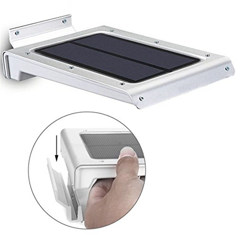 1.5W 46 LED Solar Light Outdoor Lamp Waterproof Energy Saving Wall Light PIR Motion Sensor Solar Lights for Garden Decoration