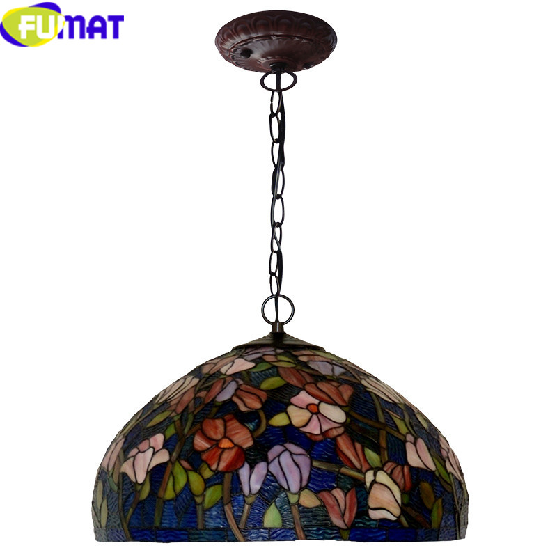 15Tiffany bombax Stained Glass Pendant Lamps