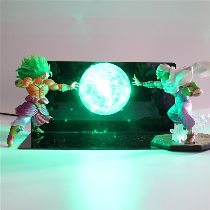 Dragon Ball Saiyan Baby LED Night Light Goku Action Figures DIY Lamp Creativity Toys Anime Model Dolls Lights for Children Kids facilitating increased creativity for adults
