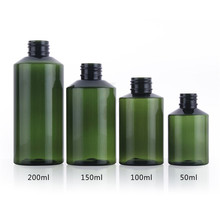 50ML 100ML 150ML 200ML Makeup Refillable Bottles Traveling Packing Plastic Replacement Press Bottle for Lotion Shampoo Shower