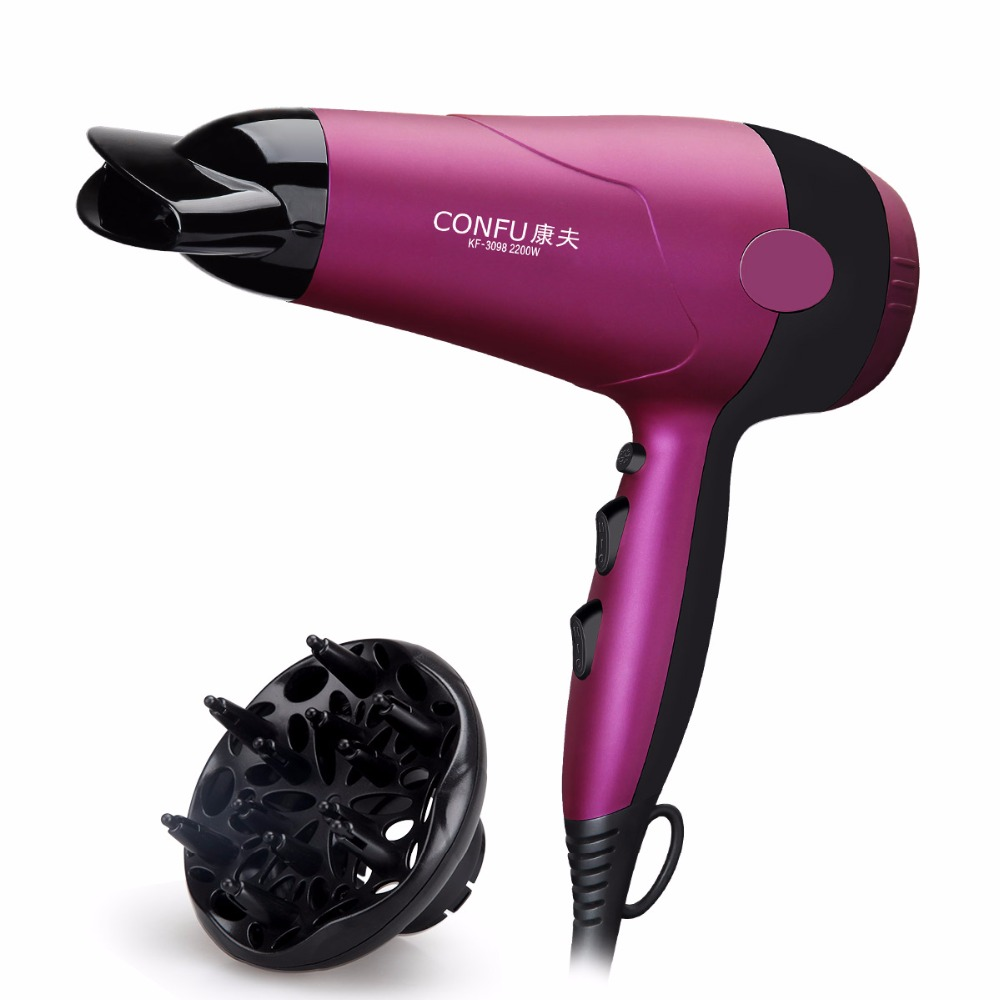 TBDX02-KF-3098,Hair dryer fukuda yasuo high power negative ion hair dryer household 2200 hot and cold hair-dryer mute electric professional hair dryer for hairdresser kf 8917 fukuda yasuo hairdryer high power hair dryer 220v 2200w