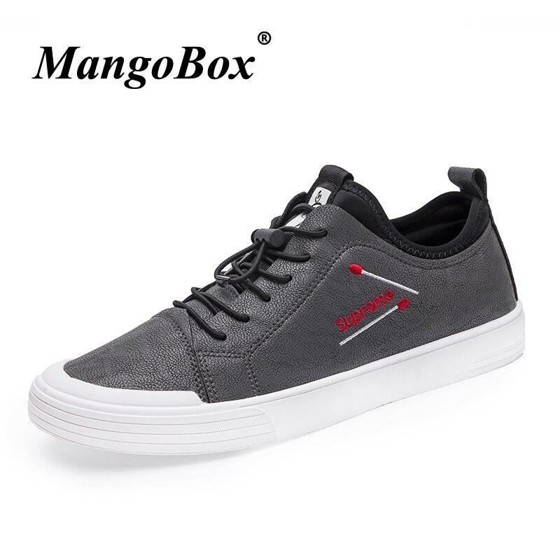 Gris En Caoutchouc Skate À Hommes Mens Mode Hiver Pour Fond Black Plates Noir Homme Pu Chaussures gray Casual La Automne Cuir 6WFAIxntP