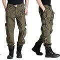 Nuevos Hombres Pantalones Tácticos Tácticos Militares Pantalones Flojos Ocasionales multi-bolsillos Pantalones de Verano