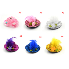 1Pc Trendy Vintage Round Bowler Doll Hat Caps for Babi Headdressing Cotume Clothes Accessories