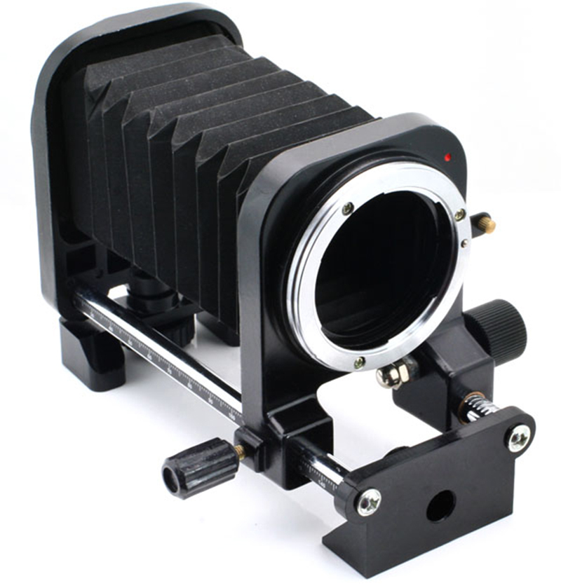 Macro Soufflet D'extension Tube Adaptateur de Montage pour Nikon D700 D800 D3100 D3200 D5200 D5300 D7100 D7200 D90 DSLR