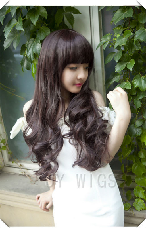 Swell Curly Bangs Hairstyles Promotion Shop For Promotional Curly Bangs Short Hairstyles Gunalazisus