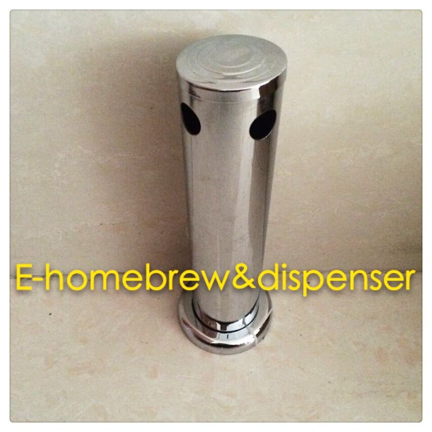 3 39 39 Two Holes Stainless Steel Beer Column Beer Tower in Bar Productor Beer Tower Draft Beer Dispenser in Other Bar Accessories from Home amp Garden