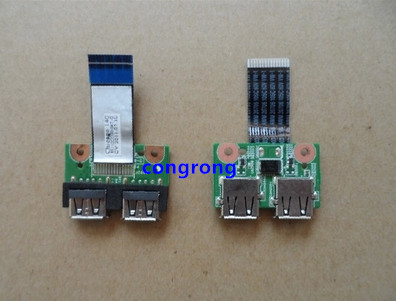For HP CQ43 G43 430 431 435 436 USB Power Button Board With Cable