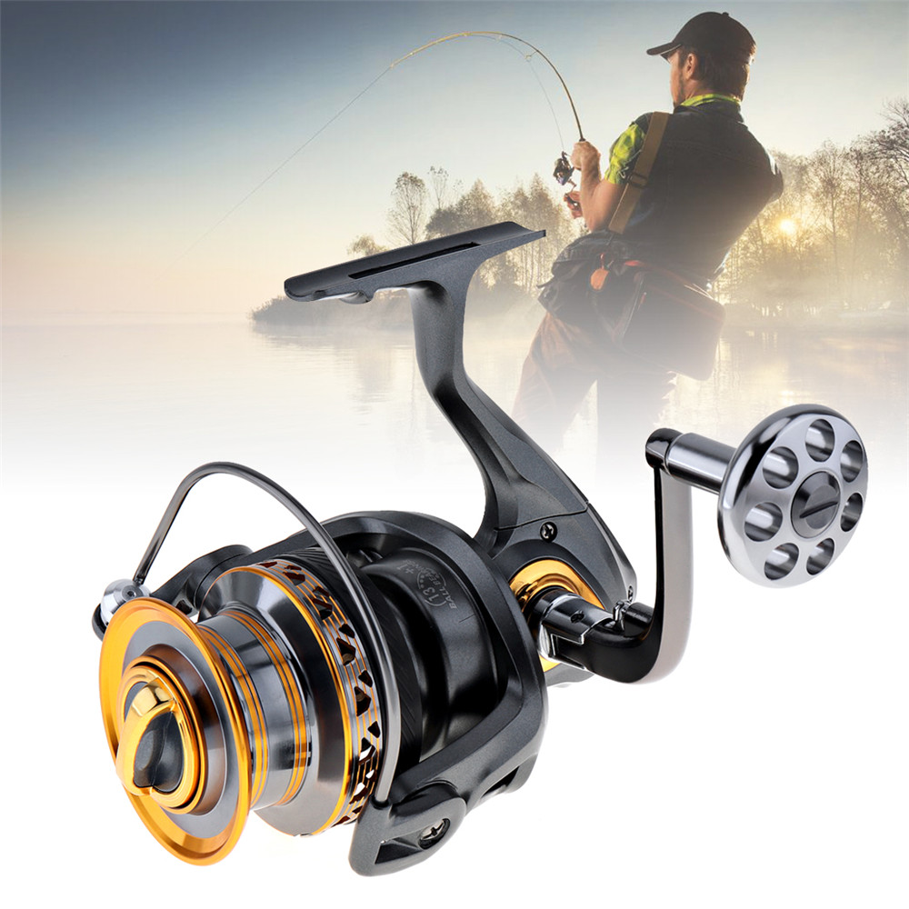 Sales Aluminum Spool Spinning Fishing Reel 6000 7000 Series 13 1 Ball Bearings Long Distance Surfcasting