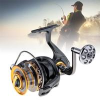 Sales Aluminum Spool Spinning Fishing Reel 6000/7000 Series 13+1 Ball Bearings Long Distance Surfcasting Reel with Metal Handle
