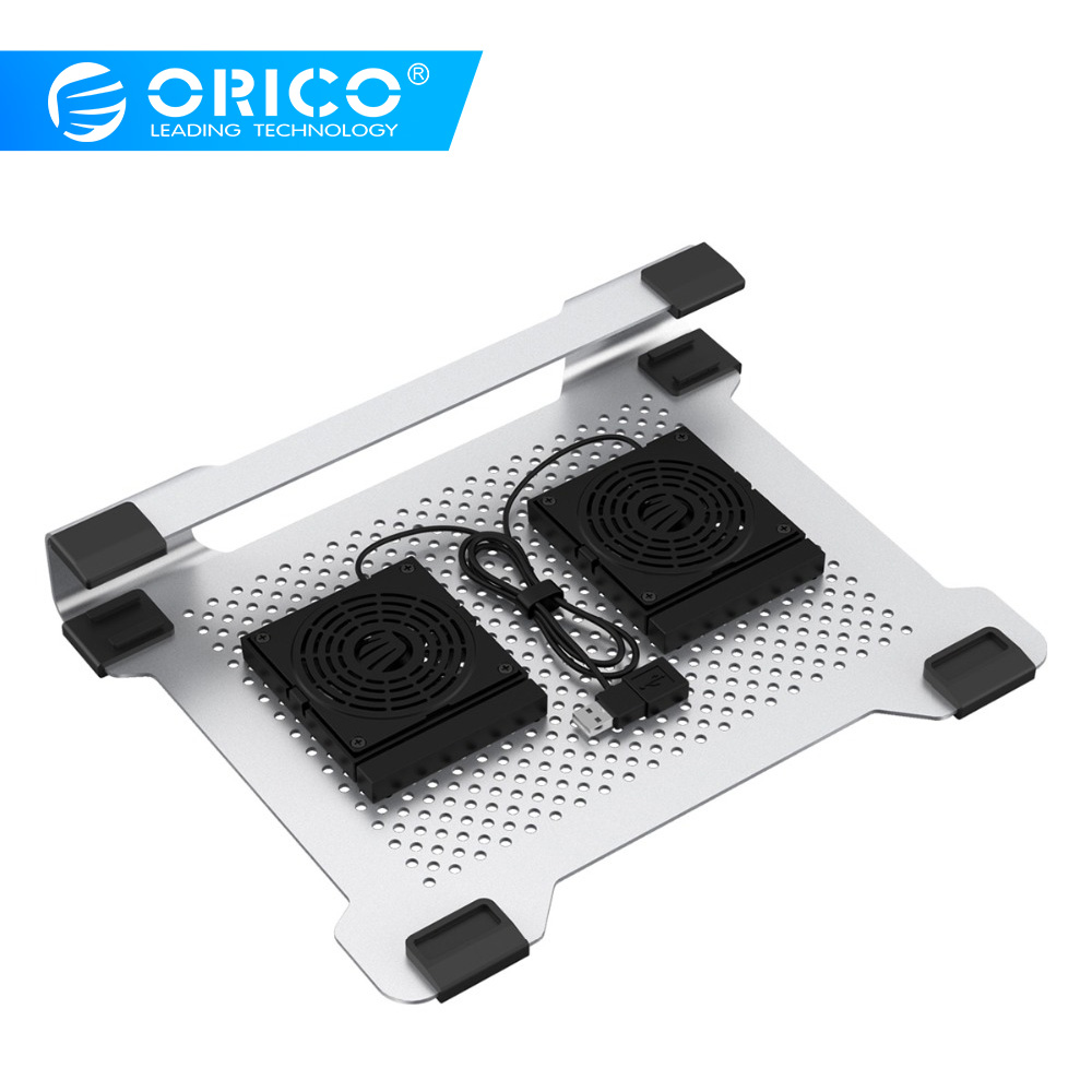 ORICO Laptop Stand Cooling Fan 15.6 inch Notebook Computer Radiator Bracket Plate Aluminum for Apple Notebook Cooling PadORICO Laptop Stand Cooling Fan 15.6 inch Notebook Computer Radiator Bracket Plate Aluminum for Apple Notebook Cooling Pad