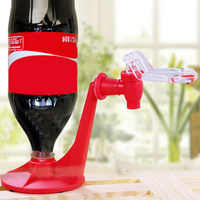 Upside Down Soda Dispenser The Magic Tap Saver Bottle Coke Upside Down Drinking Water Dispense Machine Gadget Party Home Bar