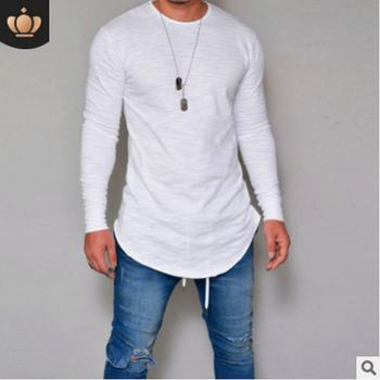 O-Neck Slim Fit Long Sleeve T Shirt