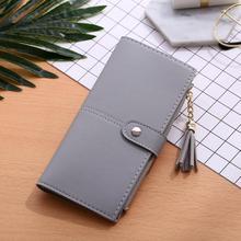 Tassel Long Purse Wallet