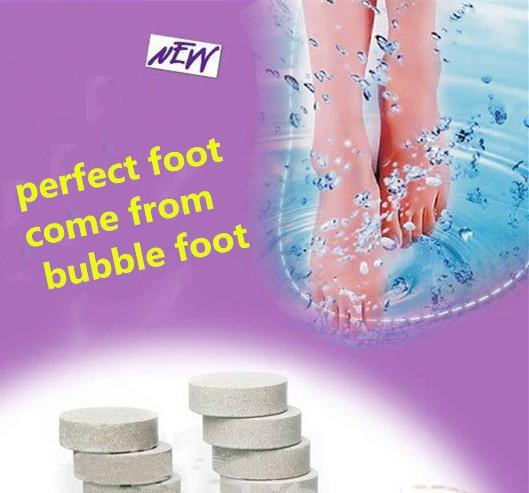 Lemon, Lavender Foot Bath Salts Improve Sleep Anti Split Foot Odor Feet Care Massage Health Monitors Massager Tool M44-PZP