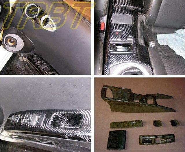 Right Drive Z33 Carbon Fiber Interior Parts 350z Gear Surround Cover