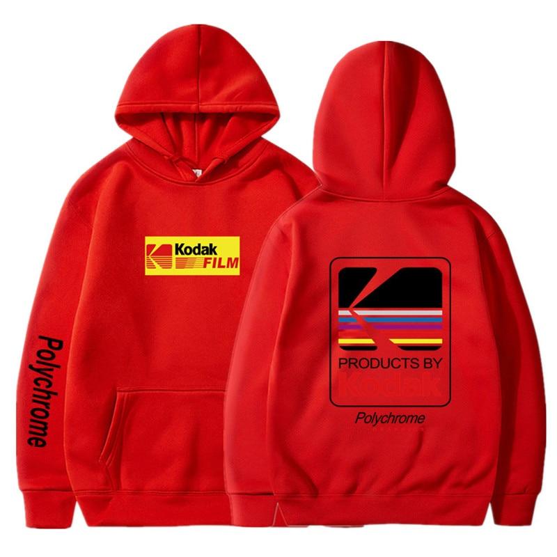 Japanese Hip Hop Winter Fleece Hoody Harajuku kodak Jackets Men Women Sweatshirts 25