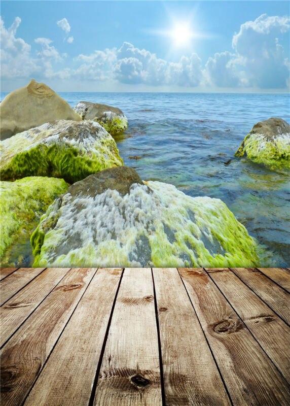 Фото фонов студии камень реквизит деревянный пол фотография