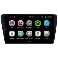 Android 8.0 Car Multimedia Player 8 inch audio radio video entertainment I din navigation system for Skoda Octavia A7 2014 2018