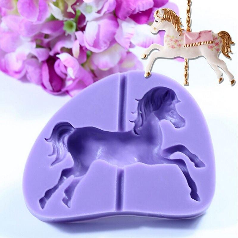 Unicorn Fondant Sucre Gâteau Décoration