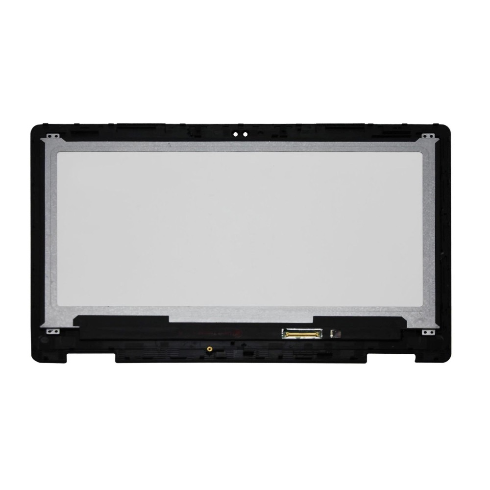 13.3'' FullHD LED LCD Touch Screen Assembly with Bezel For Dell Inspiron 13 7368 5368 5378 panel with frame digitizer monitor цена