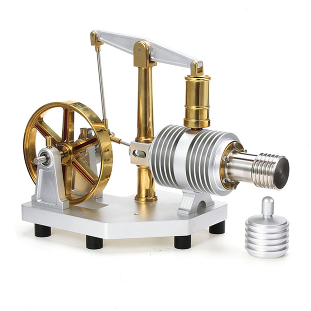 Tarot Enlarged Alloy Stirling Engine Hot Air Model Educational Science and  Discovery Toys Gift For Children Adult-in Model Building Kits from Toys &