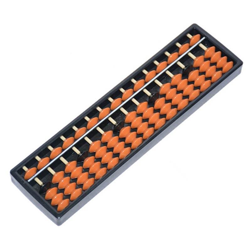10 pièces/ensemble nouveau plastique Abacus 15 chiffres outil arithmétique enfant mathématiques apprendre aide Caculating jouets cadeaux