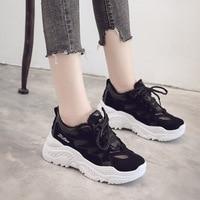 2019 Platform Shoes Female Chunky Sneakers Walking Shoes Fashion Sneakers Women Shoes New Women Vulcanize