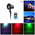 Christmas Laser Projector Outdoor Star Stars RGB Red Green Blue Waterproof Light Wireless Remote Control For Garden Decoration