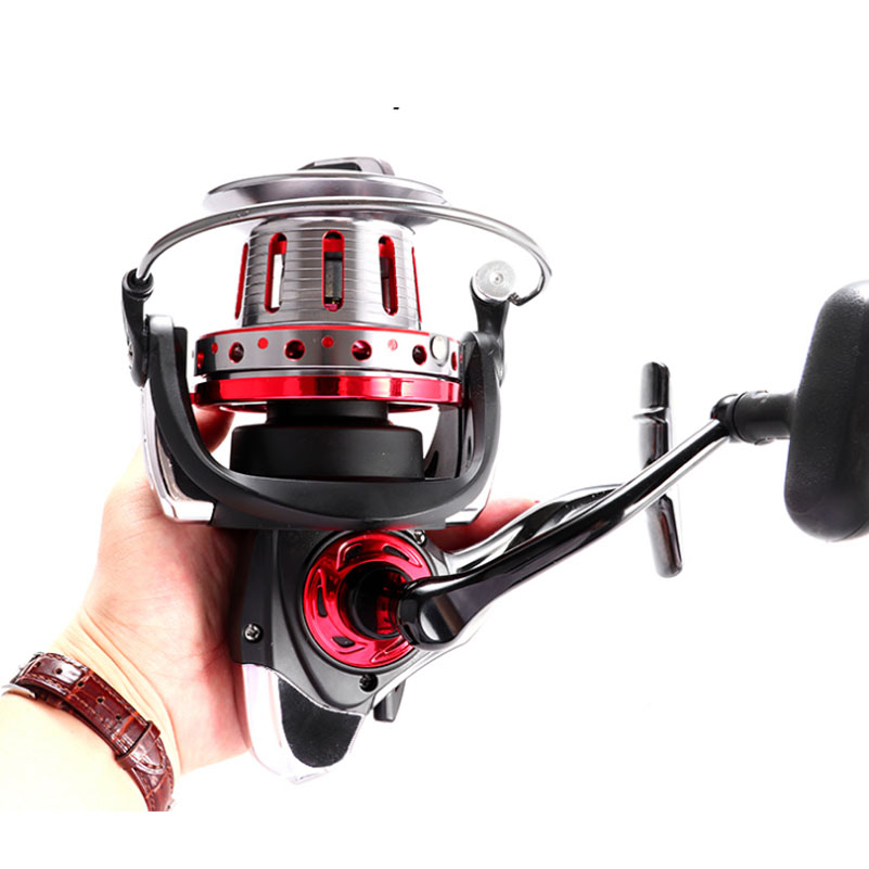 Metal Spinning Fishing Reel 13BB Large Lure Bait Cast Long Shot Rod Reels Sea Boat Raft Angling For Trout Bass Carp Fish