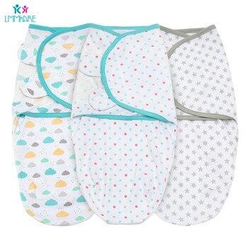 Newborn Baby Swaddle Cotton Soft receiving Blanket Breathable Infant & Swaddling Wrap Bebe kids Sleepsack Care