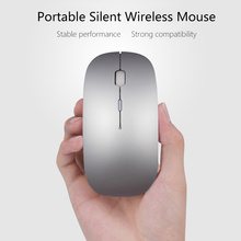 Wireless Mouse for Macbook 2.4G Computer Mute Mice Sem Fio for Mac Acer Lenovo Dell Asus Android Gaming Mause for PC Desktop Men(China)