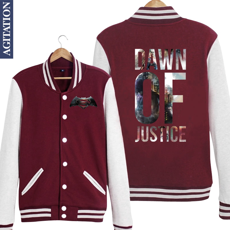 Batman Baseball Jacket Promotion-Shop for Promotional Batman ...