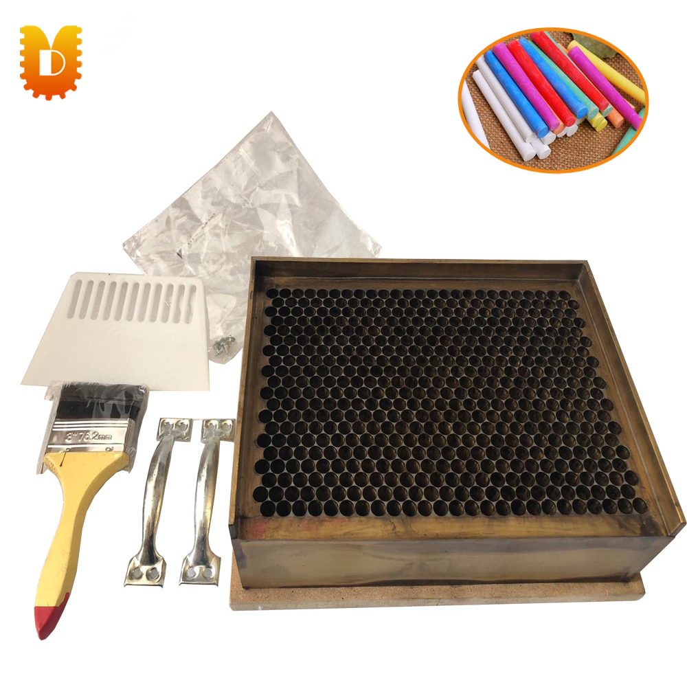 500pcs/time Copper Mould Chalk Machine/Coloured Chalk Machine/Dustless School Chalk Mould