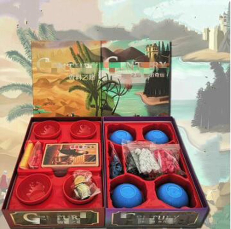 High Quality Century with Bowls Board Game spice road Eastern Wonders 2 5 Players Funny Game