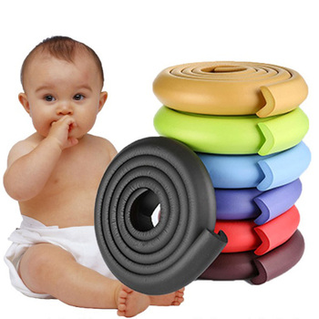 2M Children Protection Table Guard Strip Baby Safety Products Glass Edge Furniture Horror Crash Bar Corner Foam Bumper soccer-specific stadium