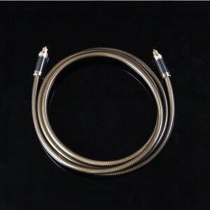 Image 5 - EMK Độ Phân Giải Cao sợi Carbon vỏ S/PDIF Cáp kỹ thuật số optilal Toslink SPDIF Cáp âm thanh OD8.0 1 m 2 M 3 M 5 M