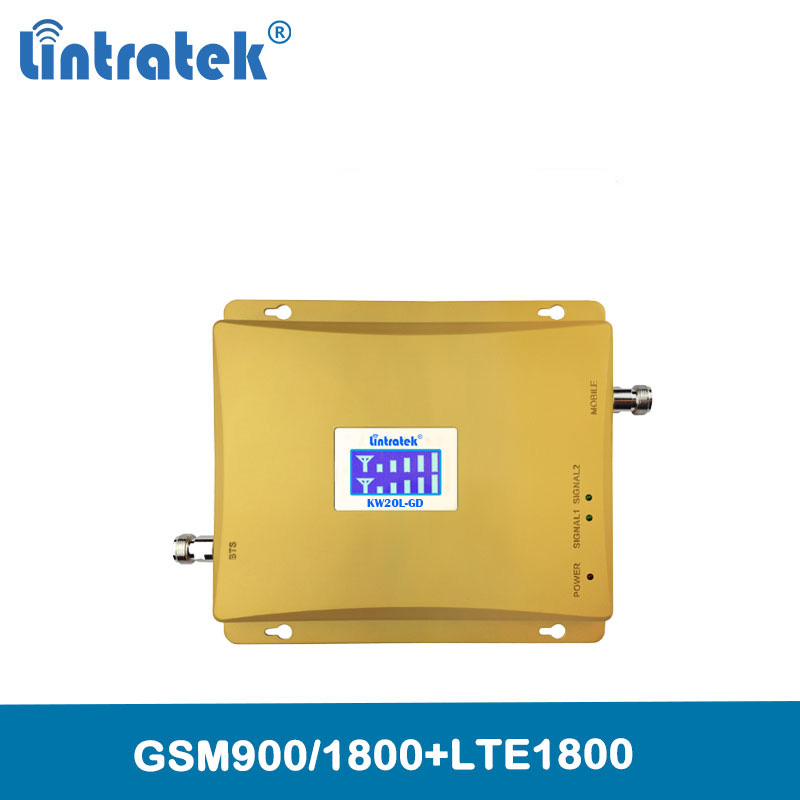 GSM 900 4G LTE 1800 (FDD Band 3) Dual Band Repeater DCS 1800mhz Cellular Mobile Signal Booster internet signal amplifier @6.2-in Signal Boosters from Cellphones & Telecommunications    1