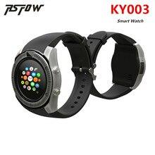 Хорошее 2018 новые Винтаж Bluetooth круглый Спорт Смарт часы KY003 Поддержка sim-карта TF наручные часы для Android и IOS Телефон PK y1 V8 V9