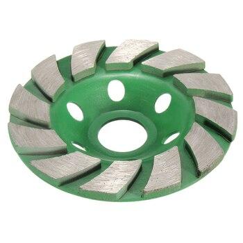 "Купить со скидкой New 4"" 100mm Diamond Grinding Wheel Disc Bowl Shape Grinding Cup Concrete Granite Stone Ceramics Too"