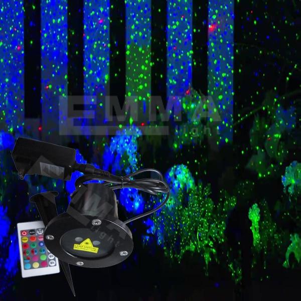 Elf Light Christmas Lights Projector Outdoor Laser Green