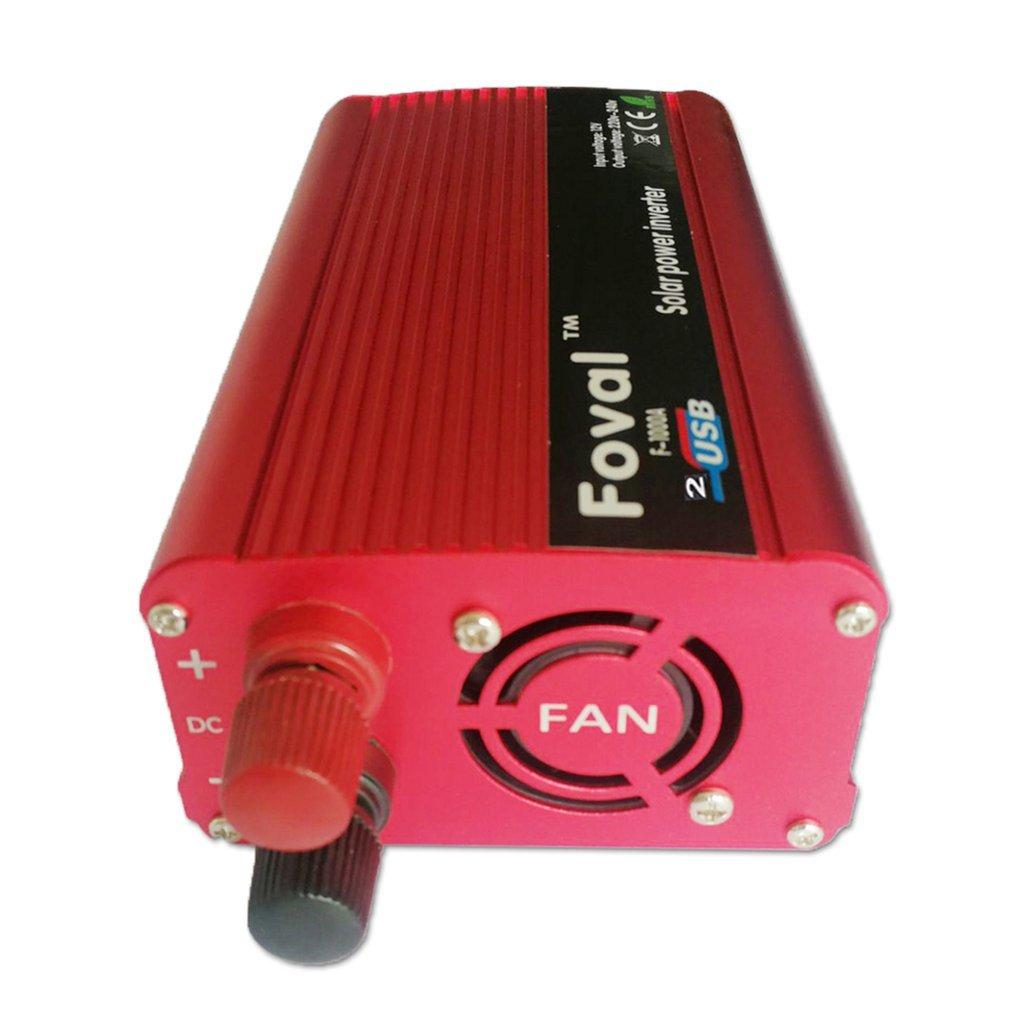 1000W Auto Power Inverter DC12V Zu AC220V Dual USB Ladegerät Konverter Transformator Hohe Umwandlung Effizienz Konverter