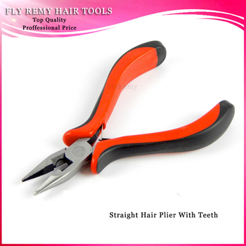 20pcs Straight  Hair Extension Pliers / Straight Head with Teeth / Hair Extension Tools