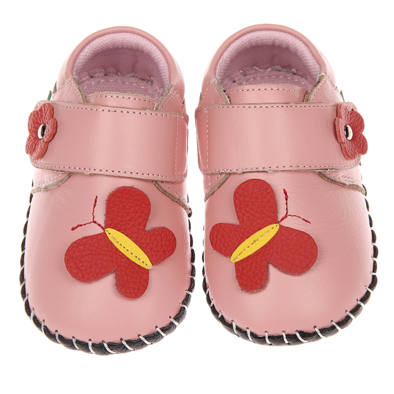 2017 autumn new baby shoes soft sole cow leather girls shoes boys shoes infant prewalkers crib shoes 0-2 years indoor outdoor