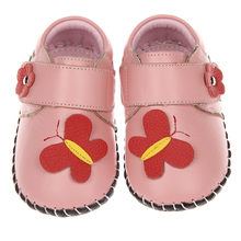 hot deal buy 2017 autumn new baby shoes soft sole cow leather girls shoes boys shoes infant prewalkers crib shoes 0-2 years sandq baby