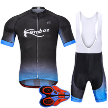 2018 New Brand Summer Cycling Jersey Set Maillot Ciclismo Short Sleeve with Bib Shorts Pro Kits Outdoor